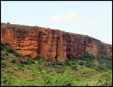 Badami Cliffs
