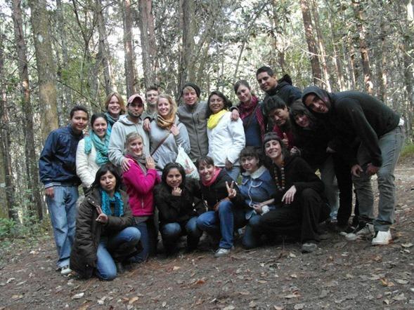 Voluntarios Chiapas en Parque San Jose