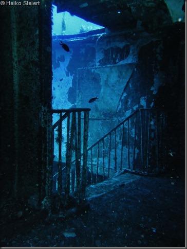 Gozo Wrack Karwela Treppenabgang