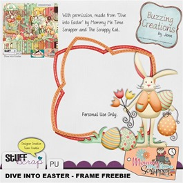 MMTS & TSK - Dive into Easter - Frame Freebie Preview