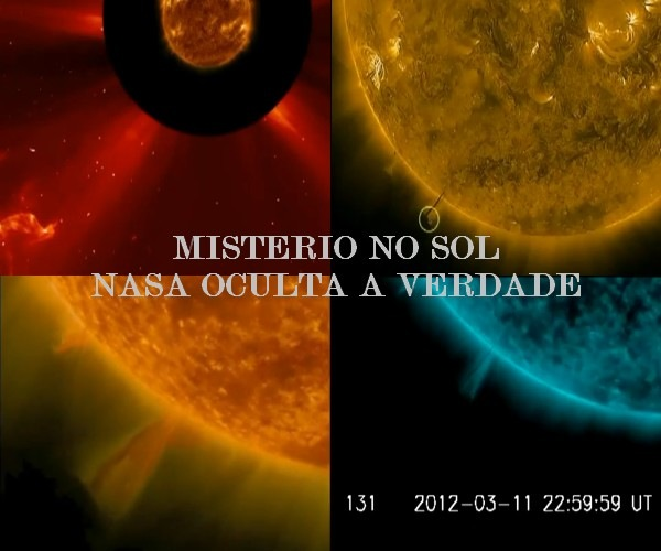 Misterio no Sol nasa oculta