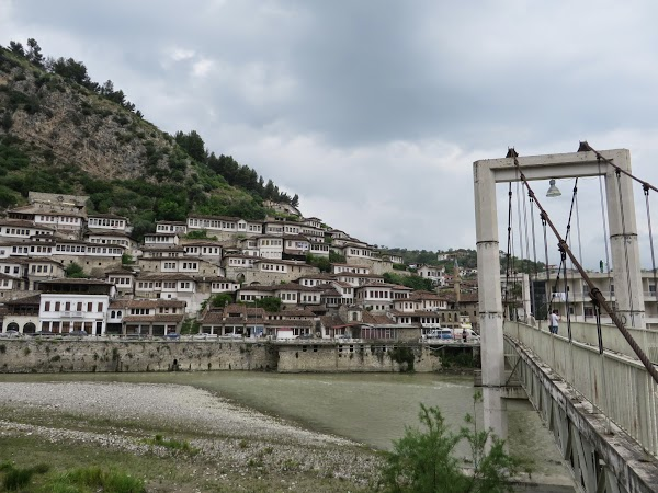 Berat, the city of the 1001 windows, is lovely and avisit to the castle up the hill is a must.