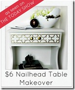 Nailhead Table Redo
