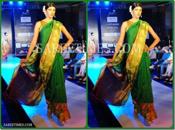Green_Designer_Saree