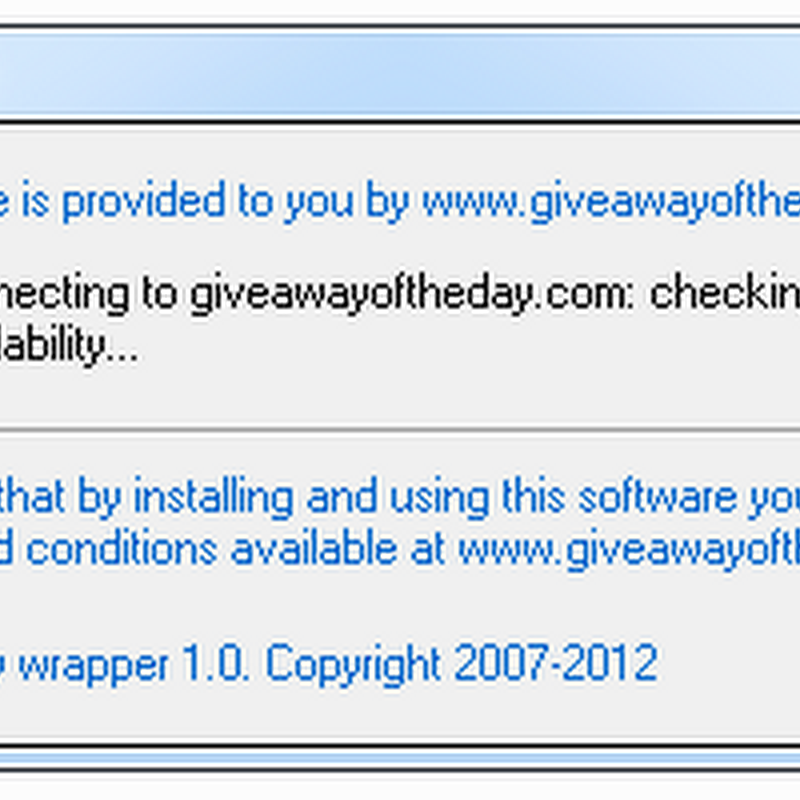 Giveaway Forever: Install Giveaway of the Day Programs After the Giveaway Expired