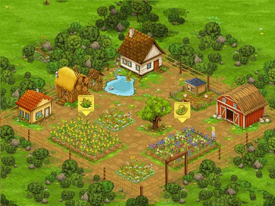 Run the farm of your dream, gather rich harvest and become a well-doing farmer!