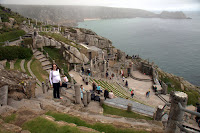 Kristy at Minack Theatre