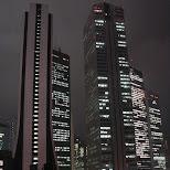 shinjuku by night in Shinjuku, Tokyo, Japan