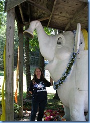3091 Pennsylvania - Orrtanna, PA - Lincoln Highway (US-30) - Mister Ed's Elephant Museum - Karen & Miss Ellie