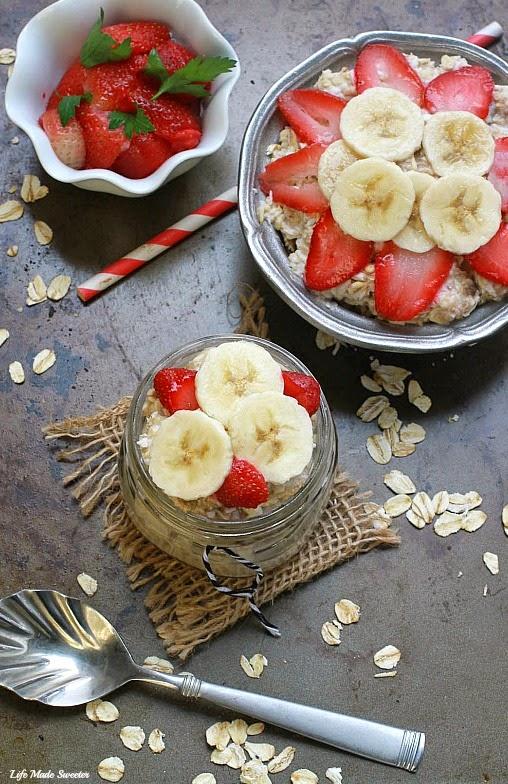 Strawberry, Banana & Coconut Overnight Oats -- @LifeMadeSweeter.jpg