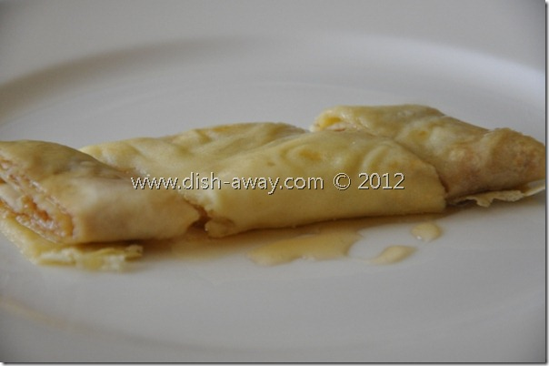 Basic Crepes Recipe by www.dish-away.com