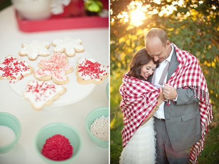 Semplicemente Perfetto Christmas Wedding Shoot 07
