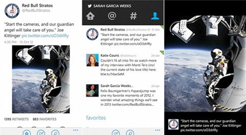 Actualización de Twitter para Windows Phone