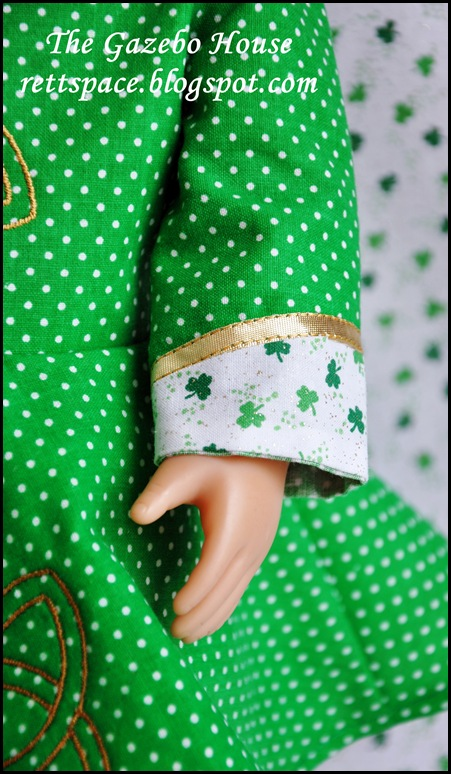 Irish Step-Dance Doll Dress 008