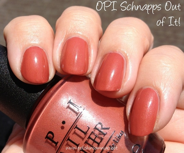 Opi Schnapps Out Of It polish insomniac: OPI ...