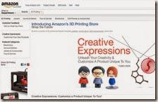 Amazon sezione stampa 3D