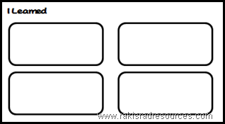 Free graphic organizer to use with a movie, unit or guest speaker - from Raki's Rad Resources.