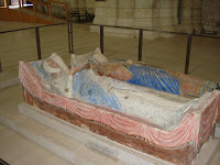 Sarcophagi of Eleanor d\'Aquitaine and Henry II - Fontevraud Abbey
