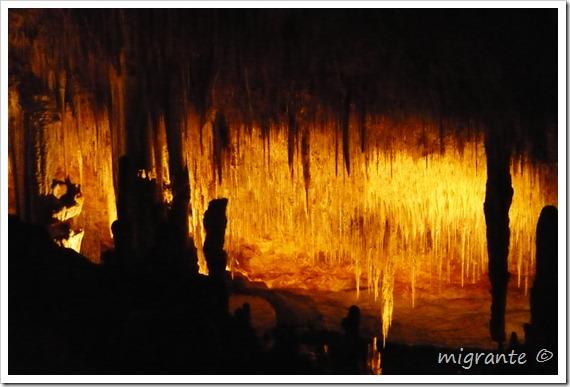 descendiendo - cuevas del drach mallorca
