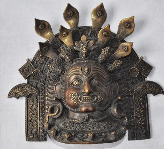 Akas Bhairav Mask