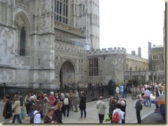 Westminster Abby South Exit (Small)