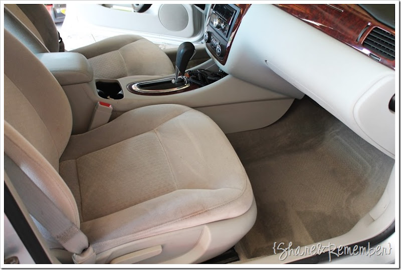 cleaning the car upholstery is easywith oxiclean versatile stain remover. Black Bedroom Furniture Sets. Home Design Ideas