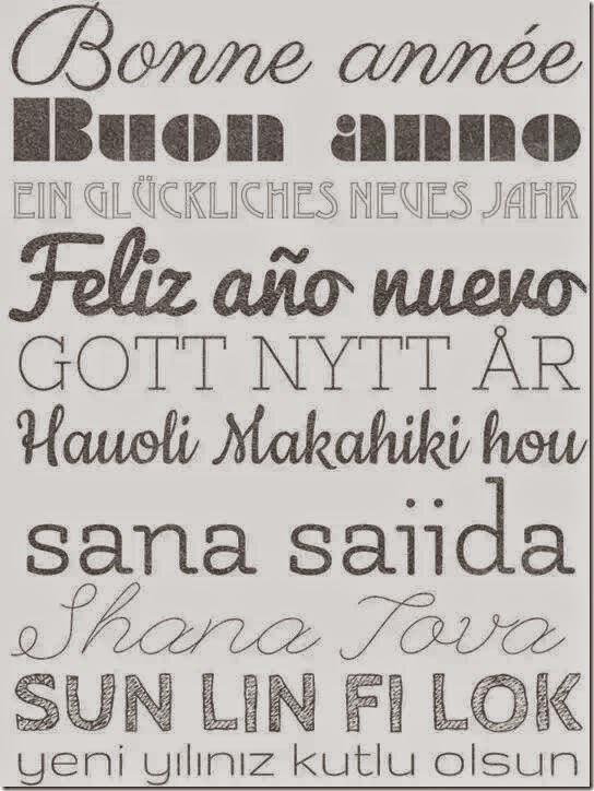 feliz año nuevo poliglota