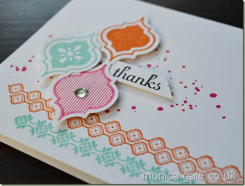 Stampin'Up! Mosaic madness swaps