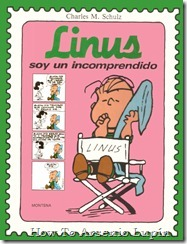 P00015 - Charles Schulz - Linus. Soy un incomprendido.howtoarsenio.blogspot.com