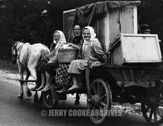 traveling-in-horse-drawn-wagon