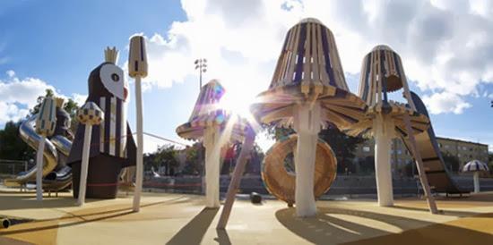 Parque infantil surreal 02