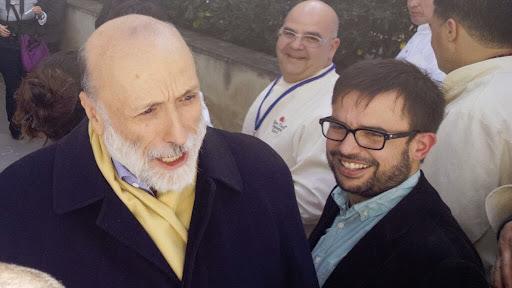 Carlo Petrini i Josep Sucarrats