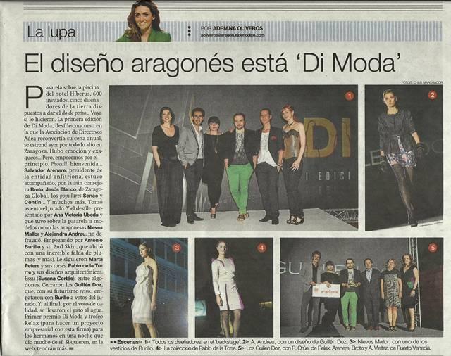 DIMODA 2011 - PERIODICO DE ARAGON - 25-06-2011