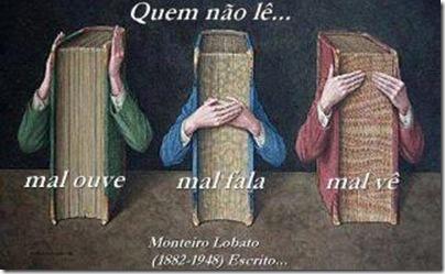quem não lê