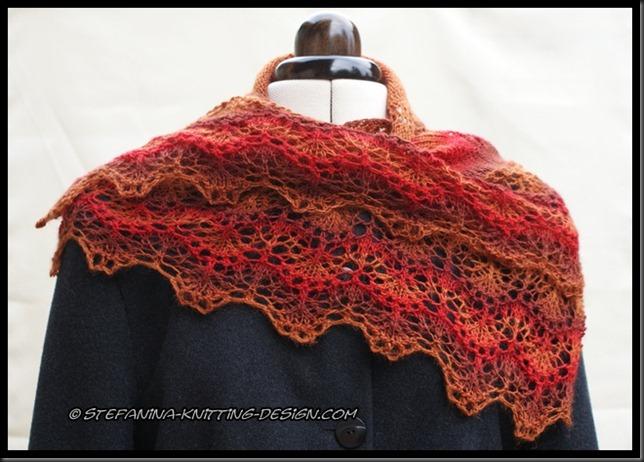 Soir d'automne shawlette (7)