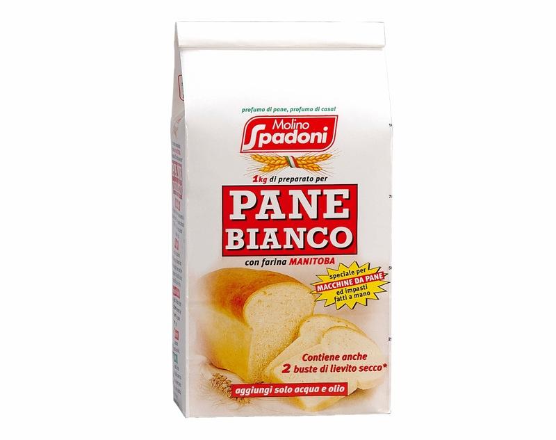 Miscela Pane Bianco + buste lievito