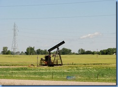 8416 Manitoba Trans-Canada Highway 1 Virden - The Oil Capitol of Manitoba - oil pump