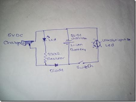 lampu-emergency-led-luxeon-circuit