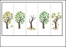 διαδοχή, φθινοπωρινπά δέντρα