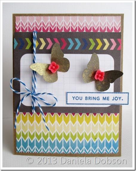 You bring me joy by Daniela Dobson