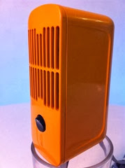 orange Braun HLD 4 hair dryer