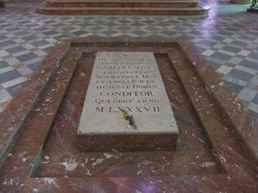 tumba de Guillermo el conquistador, Caen