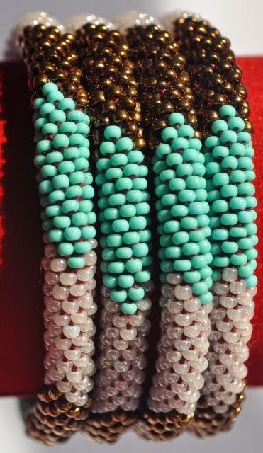 Rollover Bracelet Blue Series