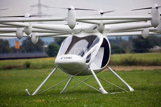 Helicóptero Volocopter elétrico 04