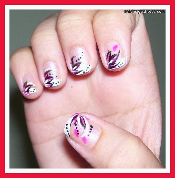 Cute Nail Polish Designs For Short Nails Pictures Photos Video Pictures Nail Polish Designs For Short Nails