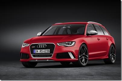 Audi RS6 Avant - frente estática - baixa