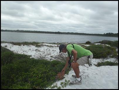 Dune hike & rain paddle 041