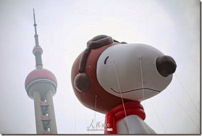 Snoopy at Pearl Square , IFC Mall, LuJiaZui, Shanghai 史努比。上海 18