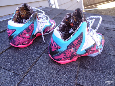 nike lebron 11 id production gumbo angel 1 04 Nike LeBron XI Gumbo iD Designed and Build by Angel