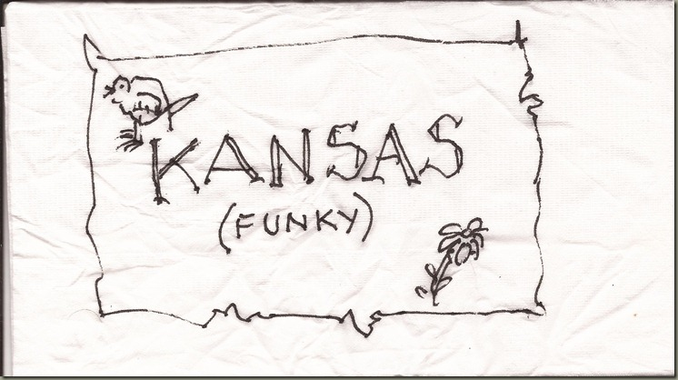 kansas map funky